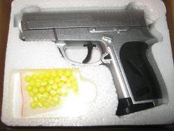 Пистолет игрушечный ZM 01 металл  пластик
