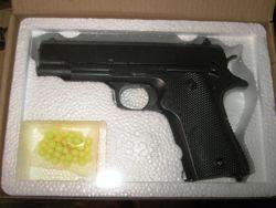 Пистолет игрушечный ZM 04 металл  пластик