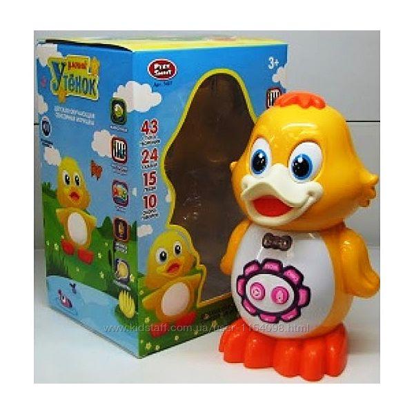 Развивающая сенсорная игрушка Умный утёнок 7497