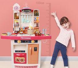 Кухня игровая Детская 998 В, Течет Вода, холодный пар