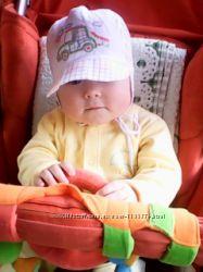 Панамка кепка для мальчика Pupill на 6-12 мес.