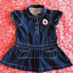 Джинсовое платье Чико Chicco размер 80