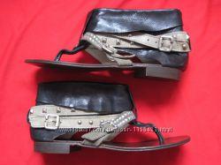 Atelier 39 кожаные сандалии босоножки женские