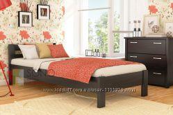 Кровать из натурального дереа Бук Рената с Бесплатной доставкой