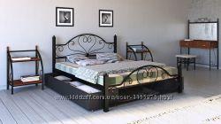 Кровать металлическая двуспальная Джоконда. Бесплатная доставка на адрес