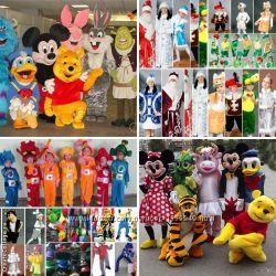 Костюмы аниматорам, ростовые куклы, карнавальные, маскарадные костюмы, пари