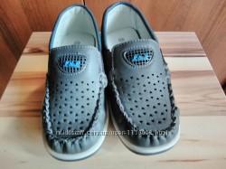 Туфли-мокасины на мальчика 28 р по стельке 18