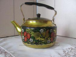 чайник декоративный  алюминевый