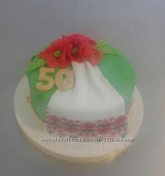 Торты на день рождения на заказ в Киеве и области