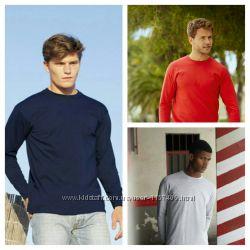 Мужская футболка с длинным рукавом. Размеры S, M, L, XL, XXL