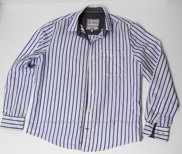 Fat. Face. Английская полосатая рубашка с длинным рукавом в стиле кэжуал.