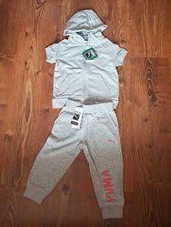 Детский комплект  футболка Puma оригинал