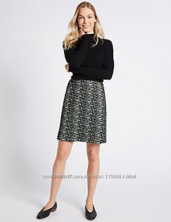 Новая юбка на подкладке Marks&Spenser р. UK14 или 48 L