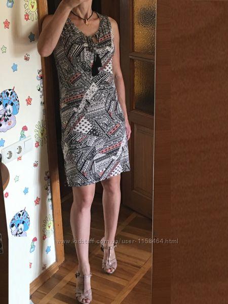 Трикотажное платье сарафан ф. TU Англия р. UK12 на р. 46 M