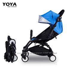 Складная летняя коляска Baby Yoya