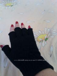 Новые перчатки без пальцев h&m