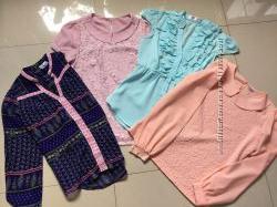 Школьные блузки рост 152-158