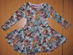 Платье с котиками и другие фирменные Большой выбор