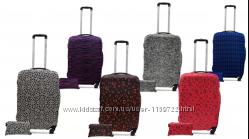 Защитные чехлы для чемодана из дайвинга с рисунком S, M, L