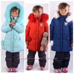Зимний костюм - комбинезон Donilo 5314 для девочек 98-128 размер