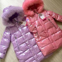 Зимнее пальто Kiko 5720 для девочки 122-140