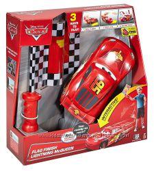 Машинка на ру Молния МакКвин DisneyPixar Cars Flag Finish Lightning McQueen