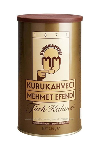 Кофе молотый Kurukahveci Mehmet Efendi 250 грамм