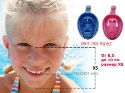 Детская подводная панорамная маска для плавания. От 4-х лет. II поколение.