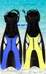 Ласты для плавания SUBMARINE  регулируемый пяточный ремешок 37-47 р.