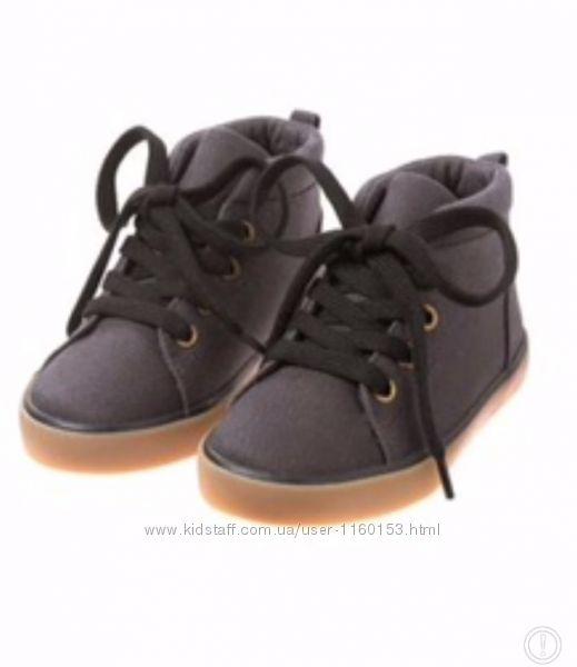 Новые ботинки кеды Gymboree Crazy 8, carters 9 размер амер