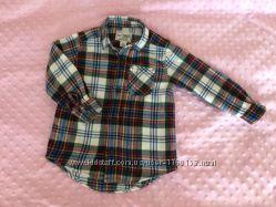 Фланелевая рубашка children&acutes place 2T идеальное состояние