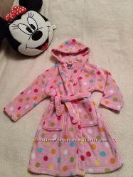 Теплый халат для девочки