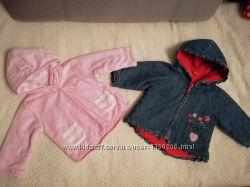 Весенние курточки для девочки 9-12 месяцев