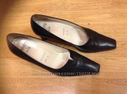 Продам туфли Ara Германия, кожа, р. 38. 5 , US 5. 5,  стелька 25. 5 см