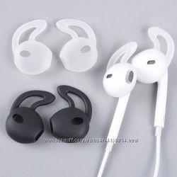 Амбушюры для Apple Airpods iPhone 6  7 Generic черные, прозрачные и белые