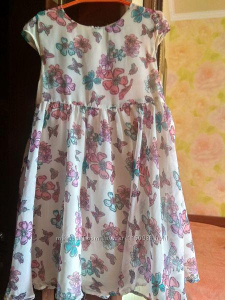 Нарядное летнее платье на девочку