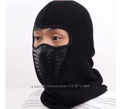 Балаклава флисовая, маска, подшлемник, террорка, маска горнолыжная