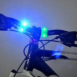Велофонарь передний задний, фонарь для велосипеда