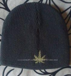 Мужская двойная шапка