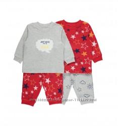 пижамы пижамки для малышей фирмы George 9-36 мес