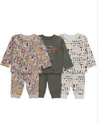 пижама George для малышей 12-36 мес  80-98 см