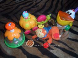 Фирменные игрушки- каталки