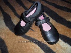 Кожаные туфли Кларкс Clarks девочке