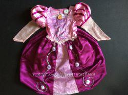 Карнавальное платье Рапунцель Дисней 3-4 года на обруче
