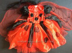 Продам VIP Карнавальное платье Божья Коровка 3-5 лет