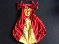 Карнавальное платье Принцессы Белль Дисней 3-5 лет