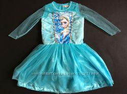 Карнавальное  Нарядное платье Эльзы 8-10 лет