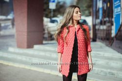 Пальто вязаное весеннее крючком