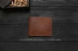 Мужские кожаные бумажники ручной работы VOILE mw1