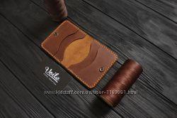 Мужские кожаные бумажники ручной работы VOILE mw3